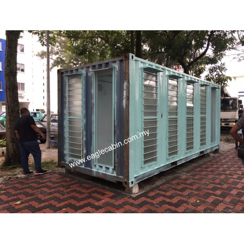 Malaysia Dining Hall & Kitchen, Modular Cabin Manufacturer