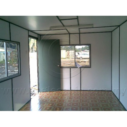 (E024) 20'x10' Used Car Cabin(Internal View)-Banting